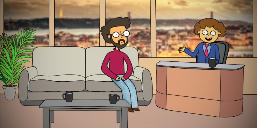 """""""Eu Chico em Casa"""": o primeiro talk show português animado"""