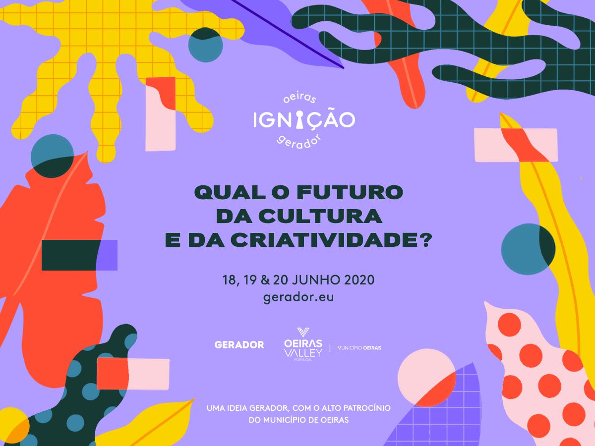 Oeiras Ignição Gerador: três dias de festival que junta mais de 40 nomes da cultura e criatividade
