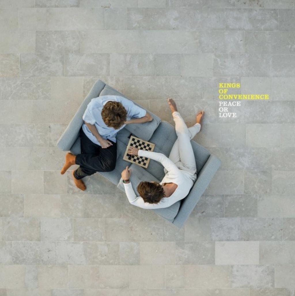 """""""Peace Or Love"""". Kings of Convenience lançam o muito aguardado quarto álbum de estúdio"""