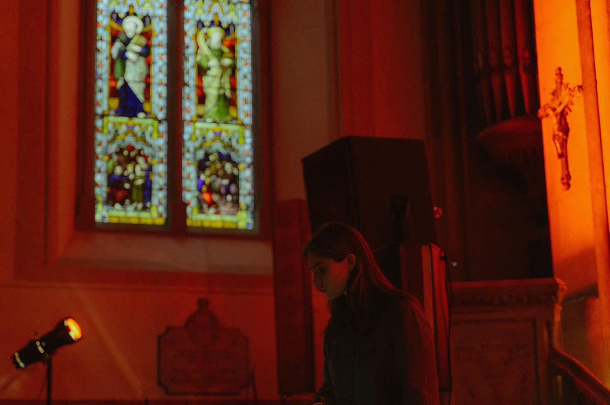 Kali Malone ao vivo: a contemplação do som