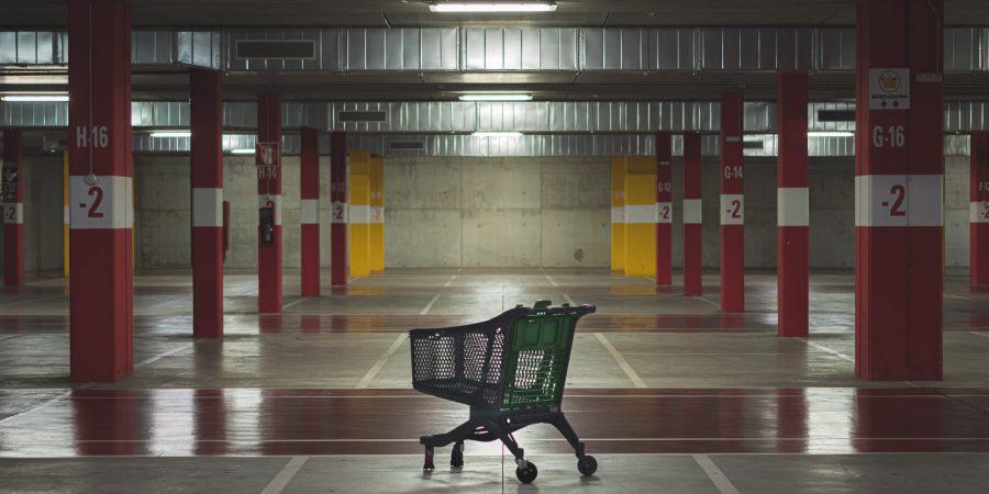 La Vie en uma caixa de supermercado