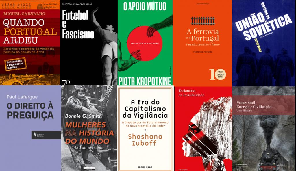 16 livros para ler nos próximos meses