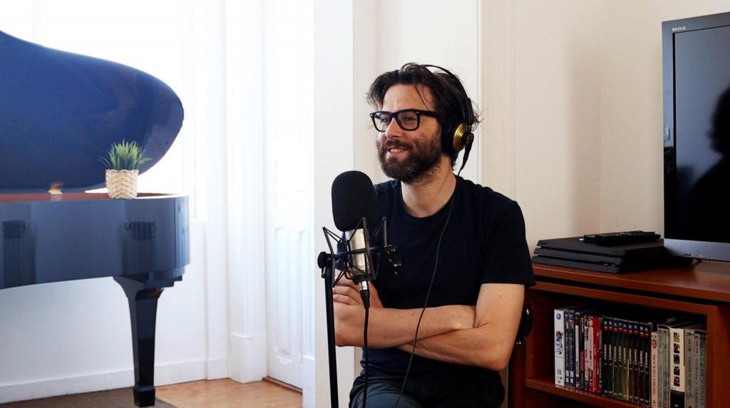 """Entrevista. Filipe Melo: """"Escrever um guião, uma história, uma canção ou tocar piano tem quase o mesmo processo"""""""