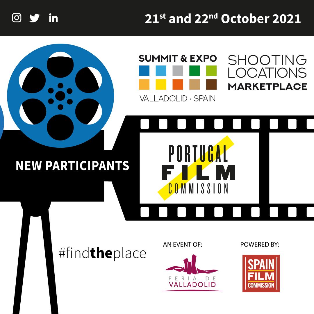 A Portugal Film Commission marcará presença na primeira edição da Shooting Locations Marketplace